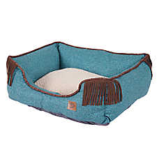 MuttNation Denim Lounger Dog Bed