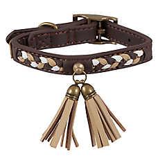 MuttNation Faux Leather Dog Collar