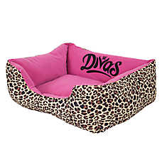 WWE Divas Rectangle Lounger Dog Bed