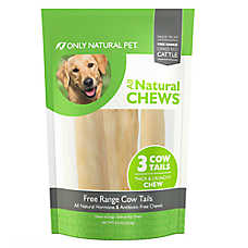 Only Natural Pet All Natural Chews Free Range Cow Tails Dog Treat