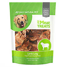 Only Natural Pet All Meat Treats Lamb Lung Dog Treat - Natural, Grain Free