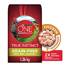 Purina ONE®SMARTBLEND True Instinct Adult Dog Food - Grain Free, Chicken & Sweet Potato