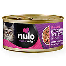 Nulo MedalSeries Cat & Kitten Food - Grain Free, Beef & Rainbow Trout
