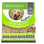 Only Natural Pet EasyRaw Dog Food - Raw, Grain Free, Dehydrated, Lamb & Sweet Potato