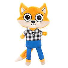 Top Paw® Fox Flattie Dog Toy