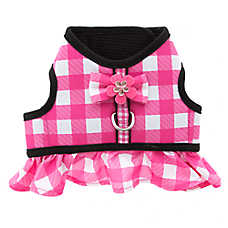 Top Paw® Gingham Harness Dog Collar