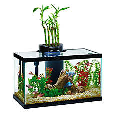 Elive® 10 Gallon AquaDuo LED Aquarium Kit
