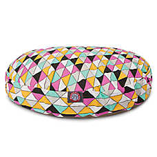 Majestic Pet Triangles Colorful Dog Bed