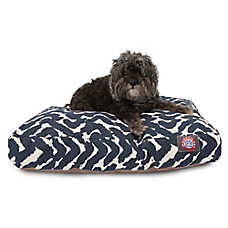 Majestic Pet Brushstrokes Navy Dog Bed