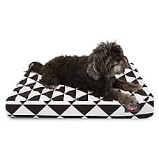 Majestic Pet Geometric Orthopedic Memory Foam Dog Bed