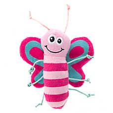 Whisker City® Butterfly Plush Cat Toy