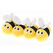 Whisker City® Bees 4-Pack Cat Toy