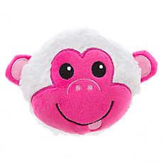 Grreat Choice® Valentine's Sherpa Monkey Ball Dog Toy