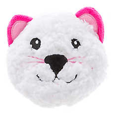 Grreat Choice® Valentine's Sherpa Cat Ball Dog Toy