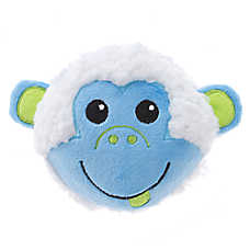 Grreat Choice® Easter Sherpa Monkey Ball Dog Toy