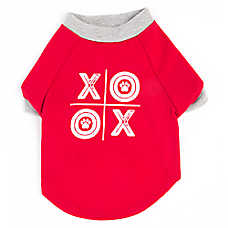"Top Paw® Valentine's Day ""XO"" Dog Tee"