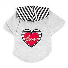 """Top Paw® """"Love"""" Heart Hoodie"""