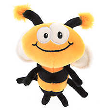 Top Paw® Bumble Bee Plush Dog Toy
