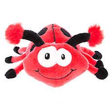 Top Paw® Ladybug Plush Dog Toy