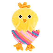 Top Paw® Easter Chick Flattie Dog Toy