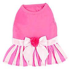 Top Paw® Stripe Skirt Dress
