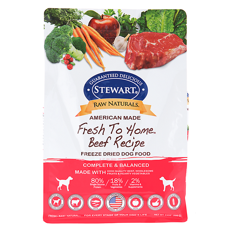save extra 20% off Stewart Raw Naturals Freeze dried food