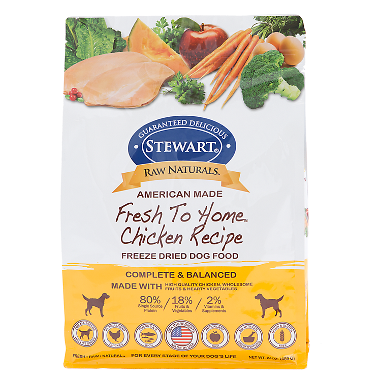 save 20% New at PetSmart! Stewart® freeze dried food.