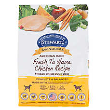 Stewart Raw Naturals Dog Food - Freeze Dried, Chicken