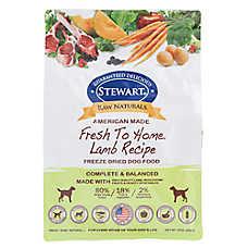 Stewart Raw Naturals Dog Food - Freeze Dried, Lamb