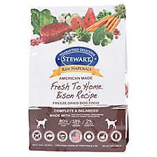 Stewart Raw Naturals Dog Food - Freeze Dried, Bison