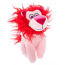 Top Paw® Valentine's Lion Plush Dog Toy