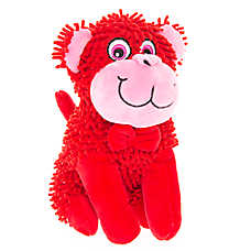 Top Paw® Valentine's Monkey Plush Dog Toy