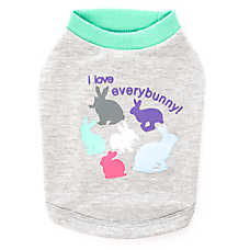 "Top Paw® ""I love everybunny"" Dog Tee"