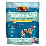 Zuke's® Enhance Fresh Breath Dog Chew - Grain Free, Chicken