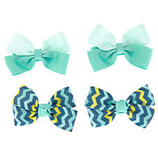 Top Paw® Chevron 2-Pack Hair Bows