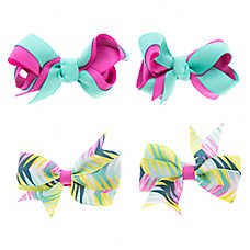 Top Paw® Chevron Hair Bows