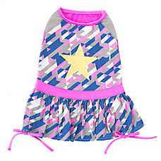 Top Paw® Geo Star Dog Dress