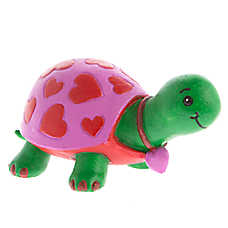 Top Fin® Valentine's Day Turtle Aquarium Ornament