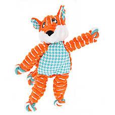 KONG® Floppy Knot Fox Dog Toy