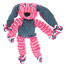 KONG® Floppy Knots Bunny Dog Toy