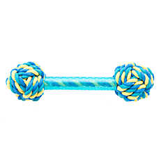 KONG® Ultra Knot Barbell Dog Toy (COLOR VARIES)