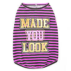 "Top Paw® ""Made You Look"" Dog Tank Top"