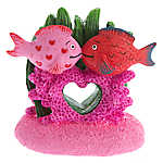 Top Fin® Valentine's Day Kissing Fish Aquarium Ornament