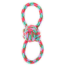 Top Paw® Figure 8 Rope Ball Dog Toy