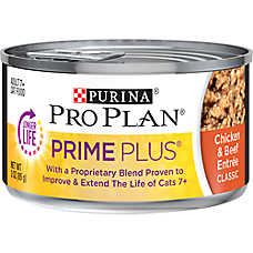 Purina® Pro Plan® Prime Plus Adult Cat Food - Chicken & Beef