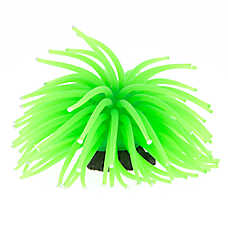 GloFish® Green Anemone Aquarium Ornament