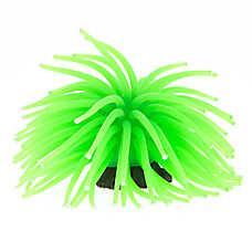 GloFish® Green Anemone Aquarium Ornament