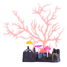 GloFish® Glow Coral Pink Aquarium Ornament
