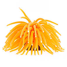 GloFish® Orange Anemone Aquarium Ornament