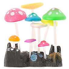 GloFish® Mushroom Bunch Aquarium Ornament